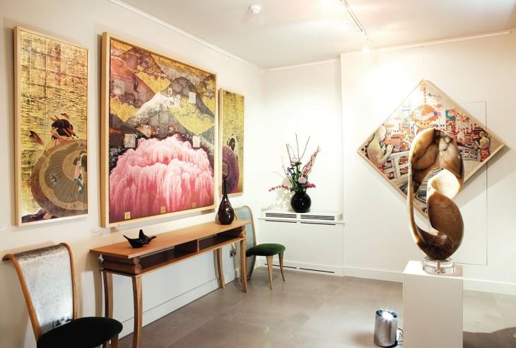 <p>Kyosuke Tchinai | Autumn Bliss, Installation view, 2013</p>