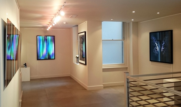 <p>Allan Forsyth: Chasing Light - Following Shadow, installation view, 2015</p>
