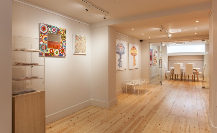 <p>Laure Hatchuel-Becker: Form and Colour, Installation view, 2014</p>