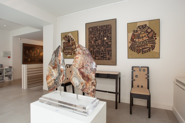 <p>Miguel Kohler-Jan: Works from the 70s and 80s, Installation view, 2014</p>