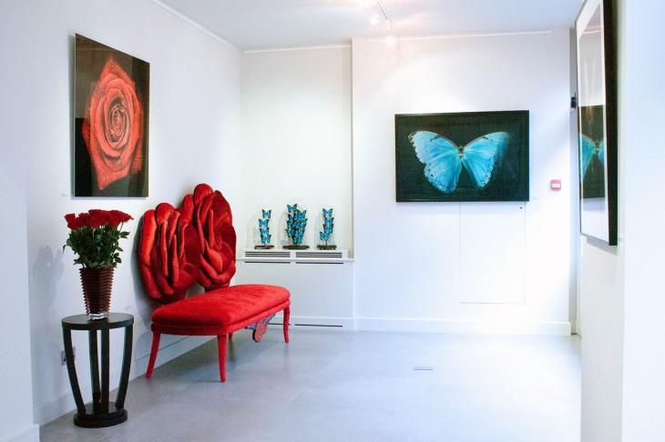 <p>Allan Forsyth | Vivid Light, Installation view, 2014</p>