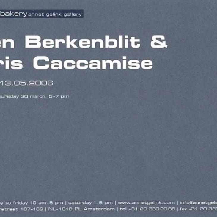 Ellen Berkenblit & Chris Caccamise
