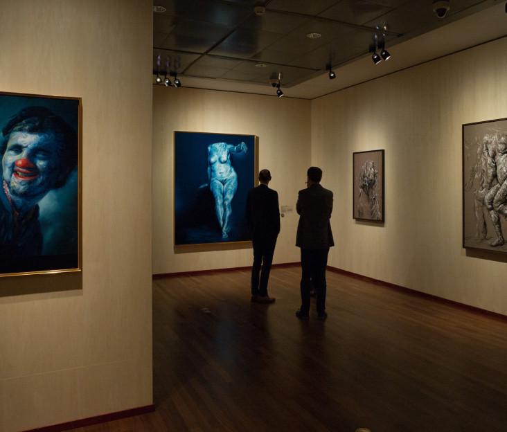 Glenn Brown - Rembrandt: After Life