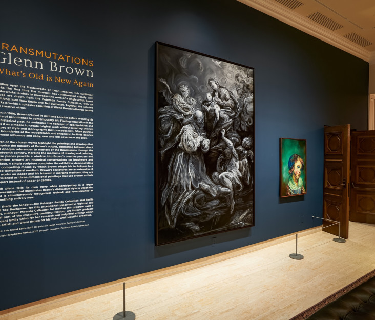 TRANSMUTATIONS: Glenn Brown/What's Old is New Again