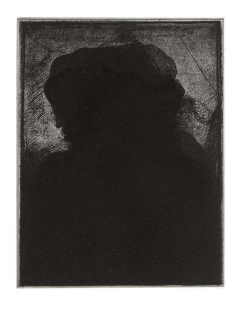 Glenn Brown: Etchings (Portraits)