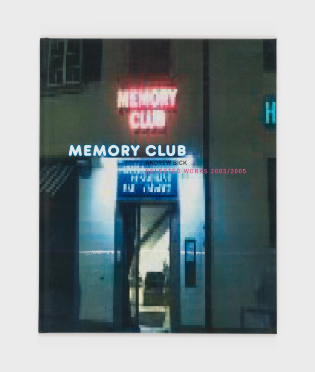 Cover of Memory Club: Selected Works 2003/2005
