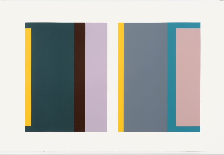 Jean Spencer  'Untitled' - Systems II, c.1990s  Gouache on paper  70 x 106 cm