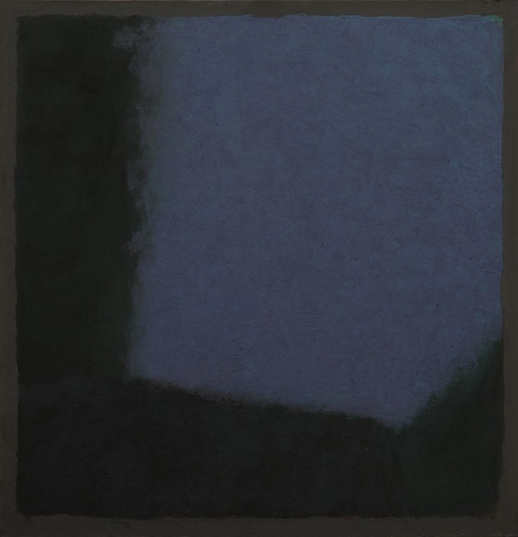 Pierre Skira  Série Baruch 370, 2015  Pastel on board  52 x 50 cm