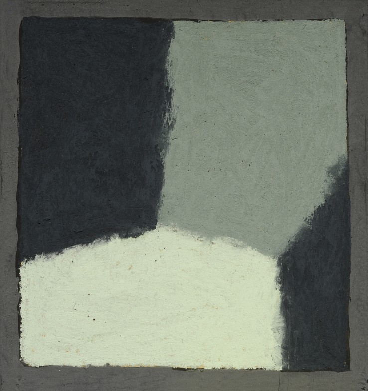 Pierre Skira  Série Baruch 376, 2015  Pastel on board  14.5 x 14.5 cm