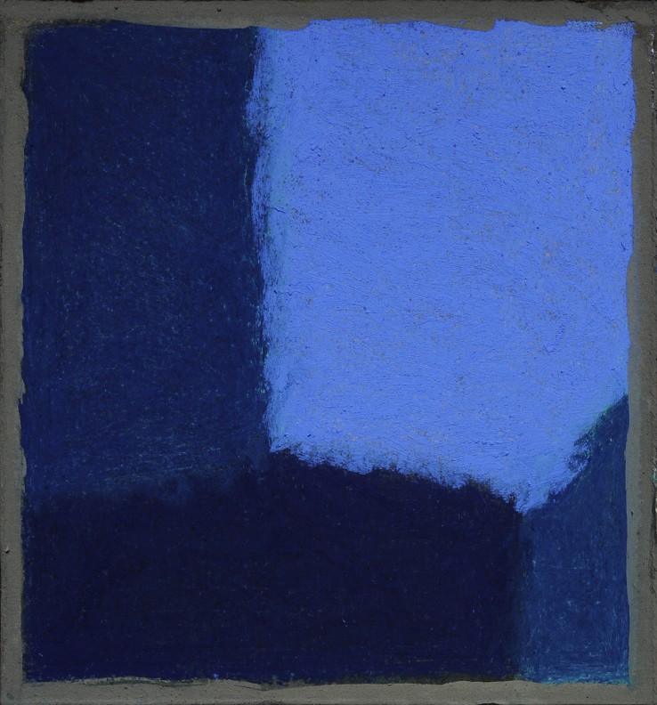 Pierre Skira  Série Baruch 379, 2015  Pastel on board  14.5 x 14.5 cm