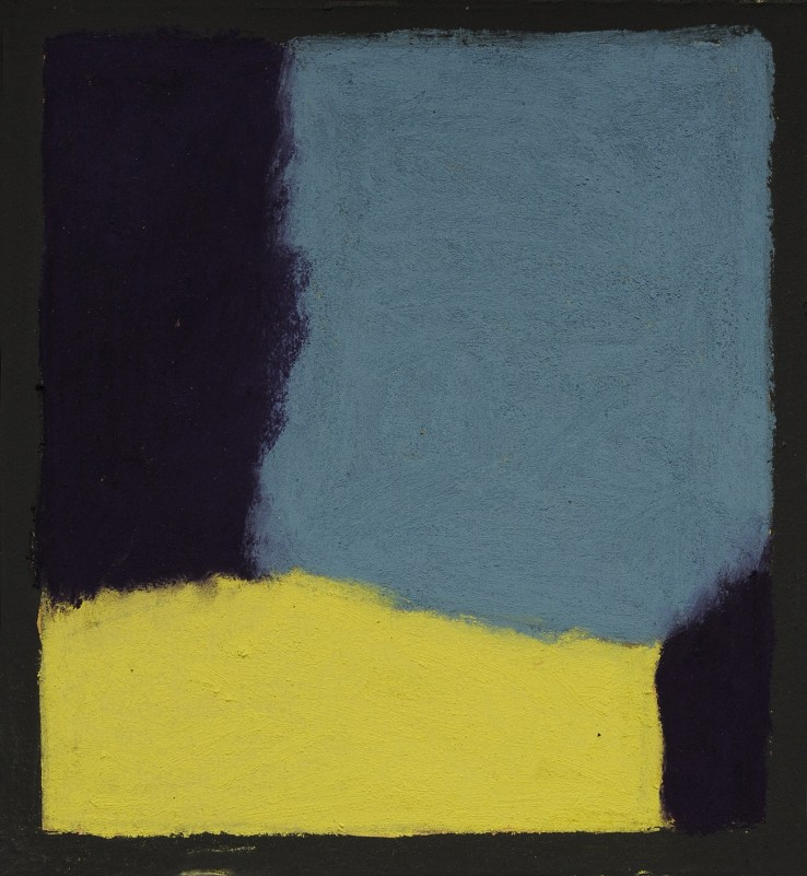 Pierre Skira  Série Baruch 384, 2015  Pastel on board  14.5 x 14.5 cm