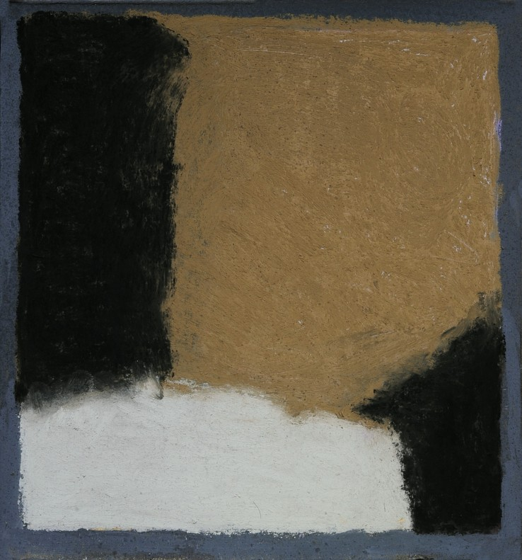 Pierre Skira  Sérei Baruch 374, 2015  Pastel on board  34 x 31 cm