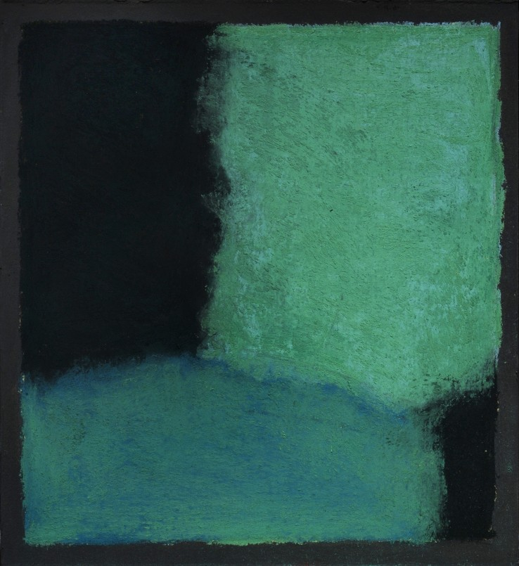 Pierre Skira  Série Baruch 386, 2015  Pastel on paper  14.5 x 14.5 cm