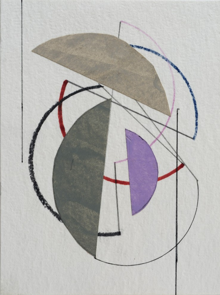 Michael Canney  Untitled, 1990  Mixed media on card  15.7 x 12 cm