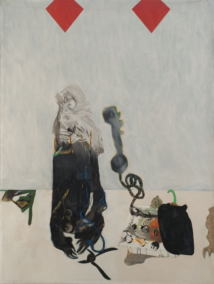 Patrick Procktor  It's For You, 1965  Oil on canvas  152.4 x 114.3 cm