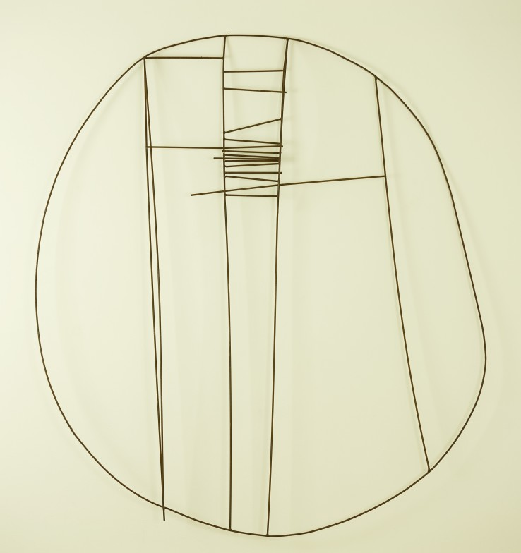 Robert Adams  Untitled, c.1950  Steel wire  94 x 81.2 cm