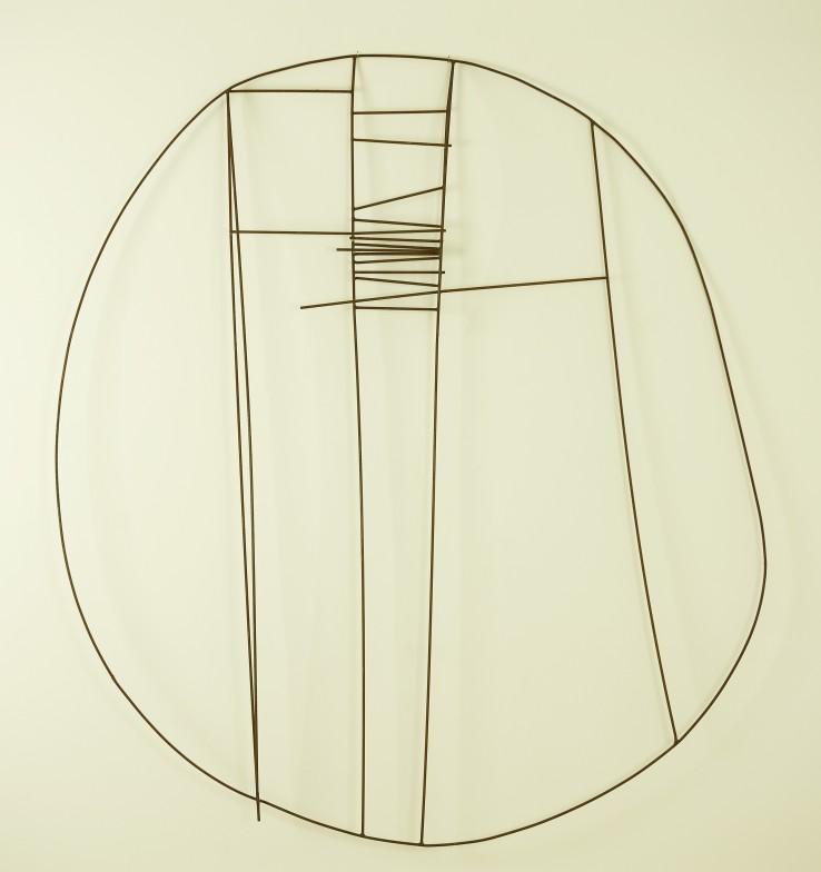 Robert Adams  Untitled, c.1950  Steel wire  94 x 81.2 cm