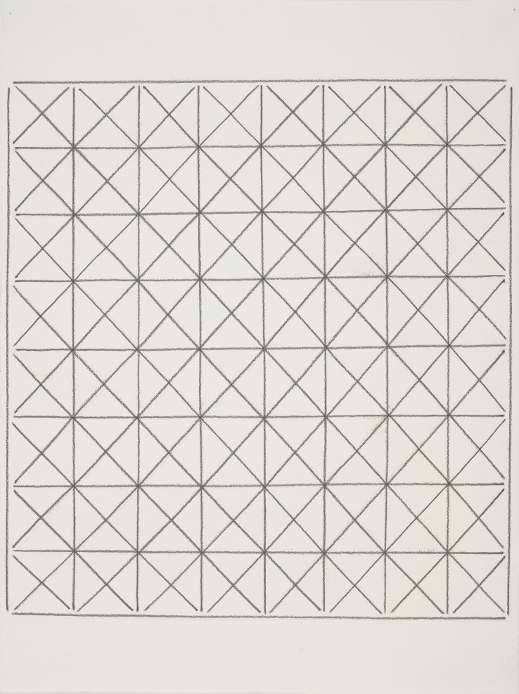 Linda Karshan  I 31/1/14  Graphite on paper  76 x 56 cm