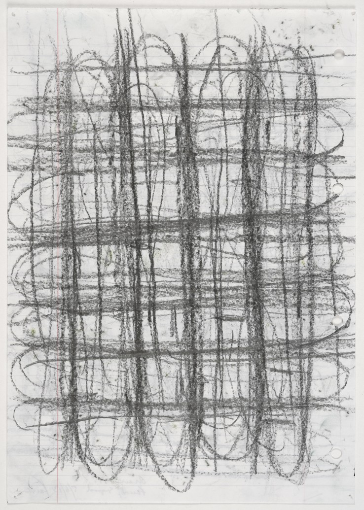 Linda Karshan  1995  Pencil on paper  29 x 21 cm