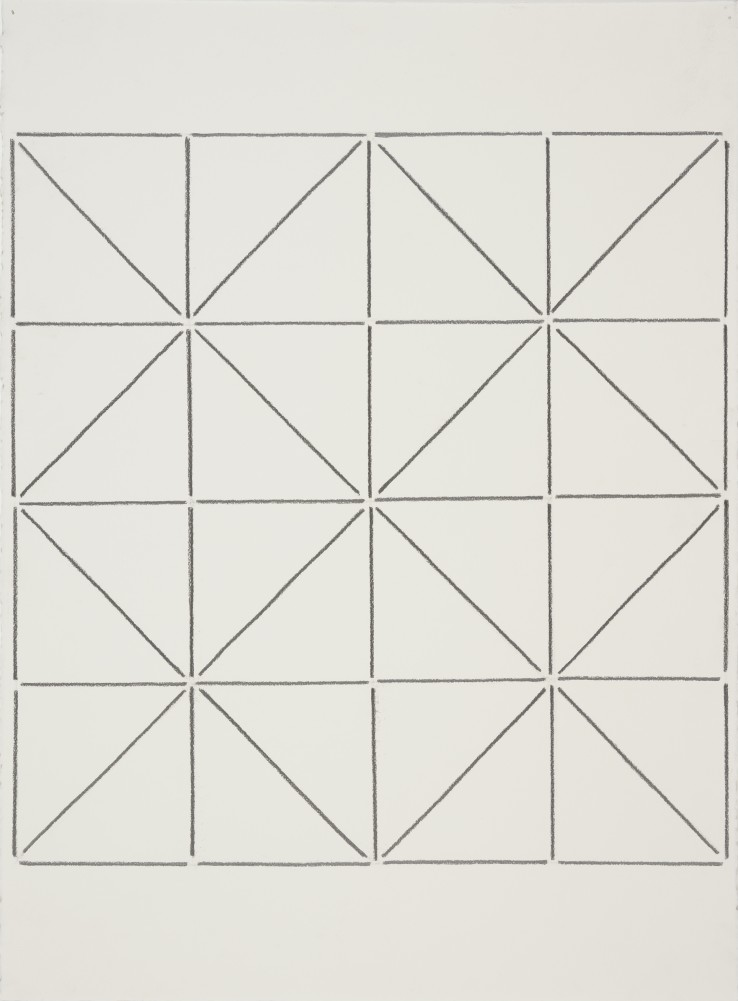 Linda Karshan  I 8/10/13  Graphite on paper  76 x 56 cm