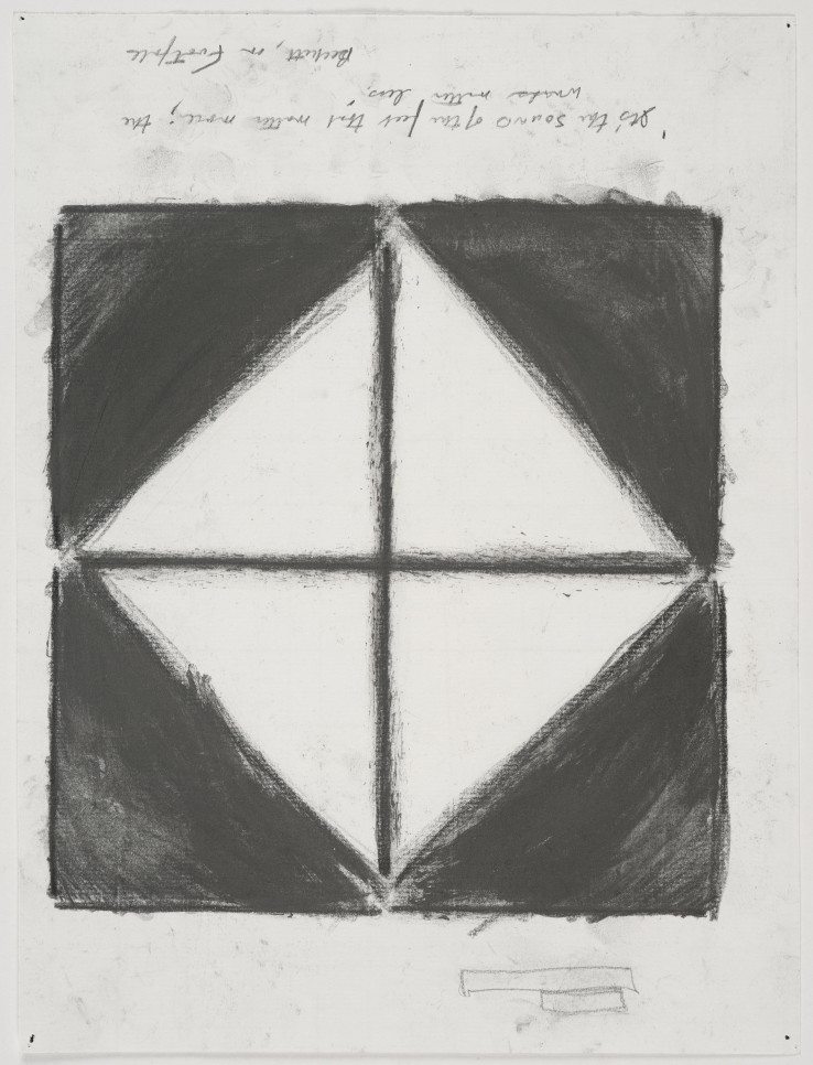 Linda Karshan  Winter Jotting, 2014  Graphite on paper  31 x 23 cm