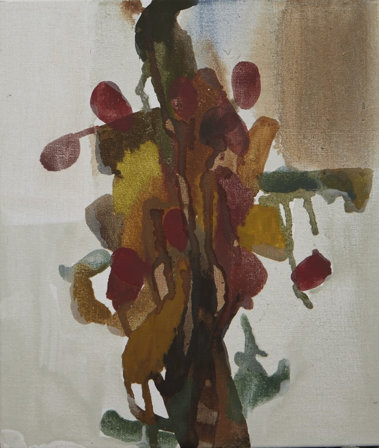 Sarah Armstrong-Jones  Early Autumn Still Life, 2015  Oil on canvas  36 x 31 cm