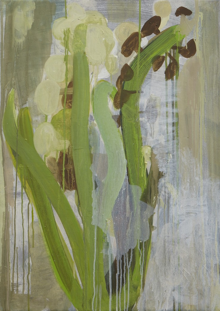 Sarah Armstrong-Jones  Hyacinth, 2014  Oil on canvas  71 x 51 cm