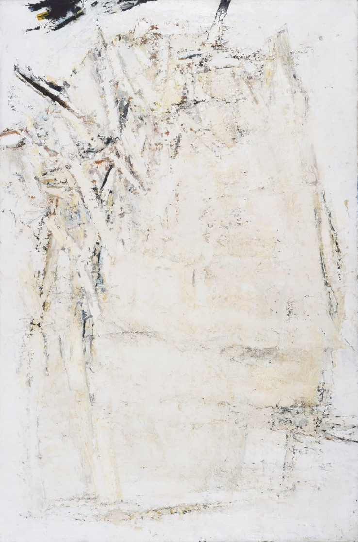 Great Zawn  1959  Oil on canvas laid on wood  137 x 91 cm  Exhibited: Paul Feiler: One Hundred Years, Jerwood Gallery, Hastings, 2018