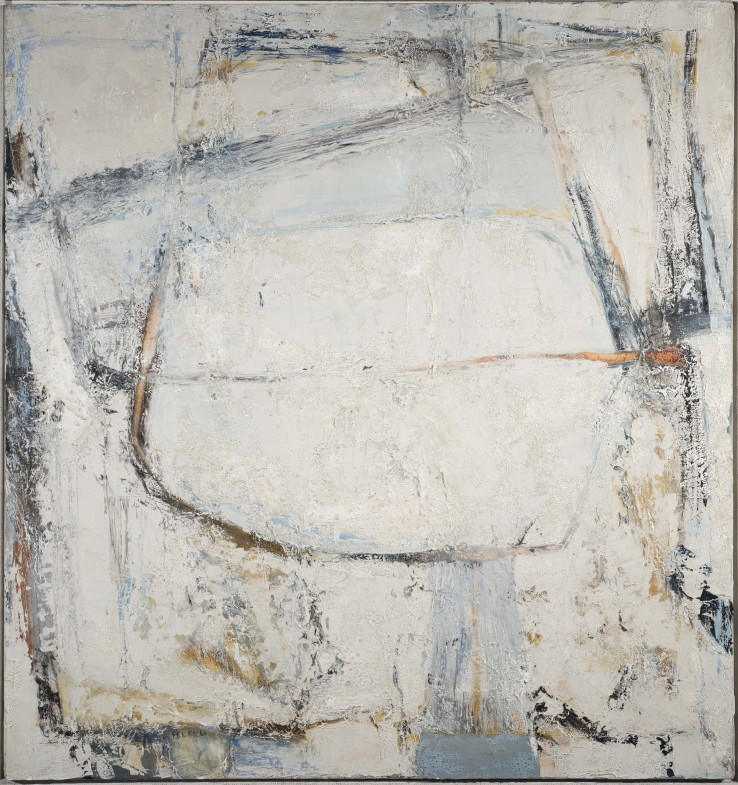 Godrevy, Blue  1961  Oil on canvas  86 x 81 cm