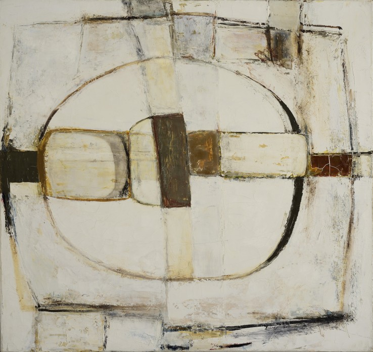Scathe, Brown  1963  Oil on canvas  76 x 81 cm