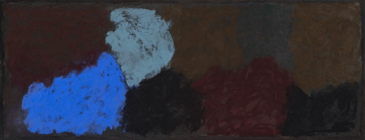 Vita Infinita 15A  2018  Pastel on board  24 x 62 cm