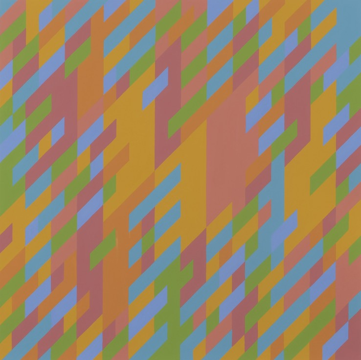 Bridget Riley CH, CBE  November 4  1987  Gouache on paper  61 x 64 cm
