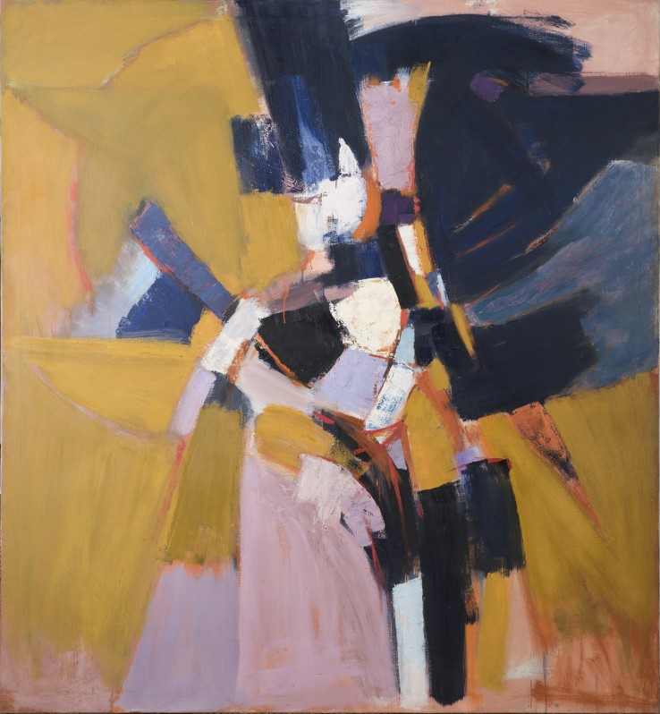 Adrian Heath  Yellow Ochre  1959  Oil on canvas  198 x 183 cm