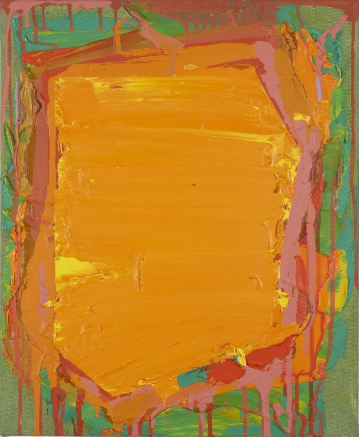 John Hoyland RA  Untitled, 1974  Acrylic on canvas  55 x 45 cm