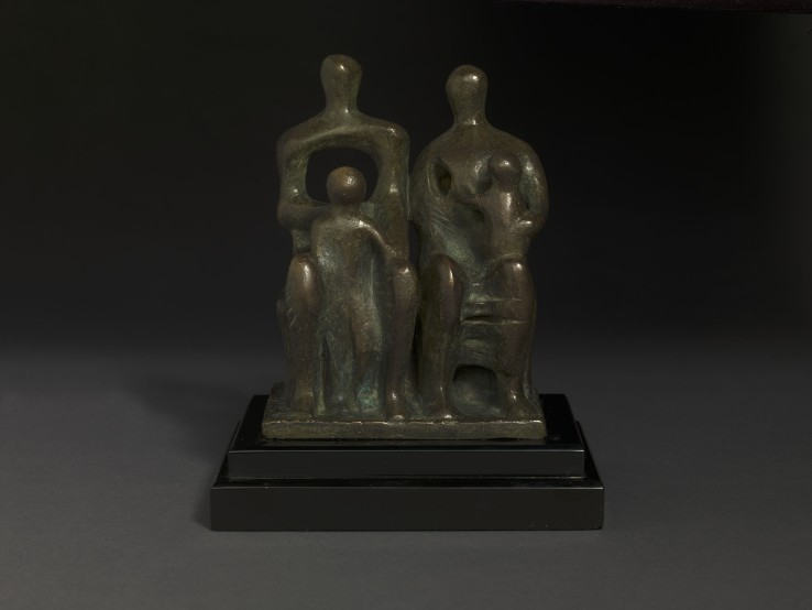 Henry Moore OM, CH  Family Group, 1945  Bronze  14.7 cm (height)  From the edition of 6+1