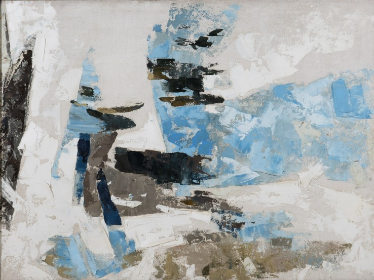 Cecil Stephenson  Allegro, 1960  Oil on board  91 x 122 cm