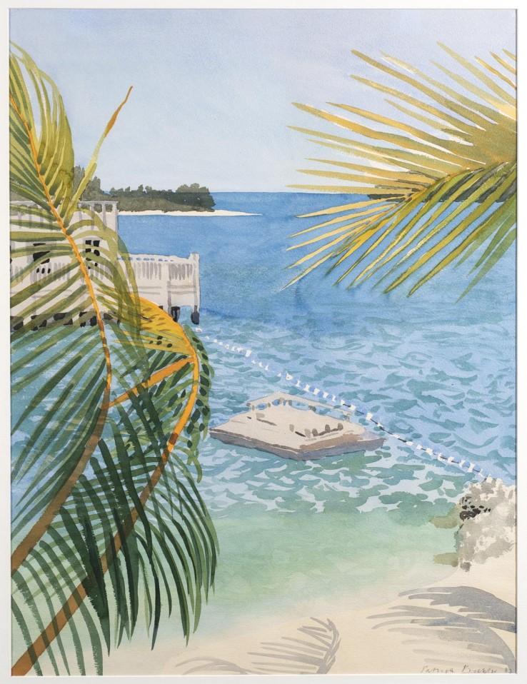 Patrick Procktor,  Key West a.m., 1983,  Watercolour, 61 x 45.7 cm