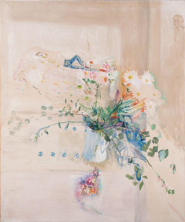 Patrick Procktor,  Pure Romance, 1968,  Oil on canvas, 121.4 x 101.6cm