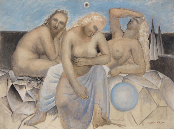 Glyn Warren Philpot RA  The Three Fates, 1933  Oil on canvas  60 x 80 cm  Signed lower right