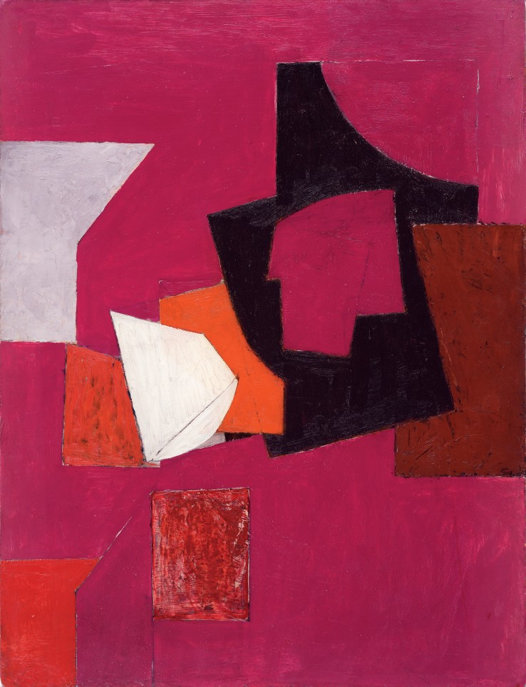 Adrian Heath  Untitled, 1953  Oil on board  76 x 58 cm