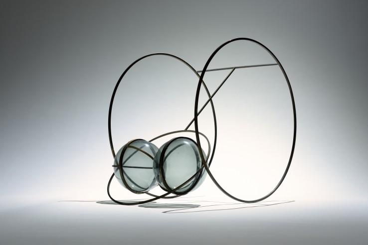 Bryan Kneale RA  Belladonna, 1967  Brass and perspex  50 x 50 x 37 cm  Unique