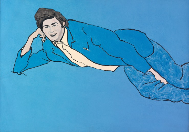 Patrick Procktor RA  Boy with a Facial Eruption, 1967  Acrylic on canvas  58.2 x 81 cm