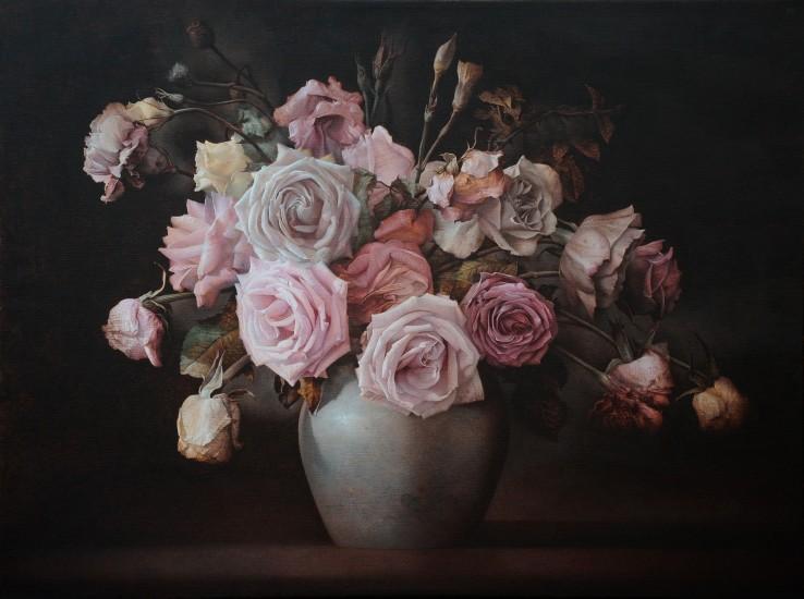 Paul Emsley  Spring Island, 2017  Acrylic on canvas  91.3 x 122.2 cm