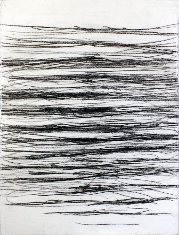 Linda Karshan  22/07/1998, 1998  Graphite on paper  76 x 56 cm