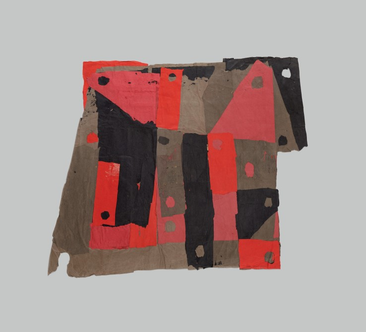 Francis Davison  D-36, 1970  Collage  107 x 133 cm