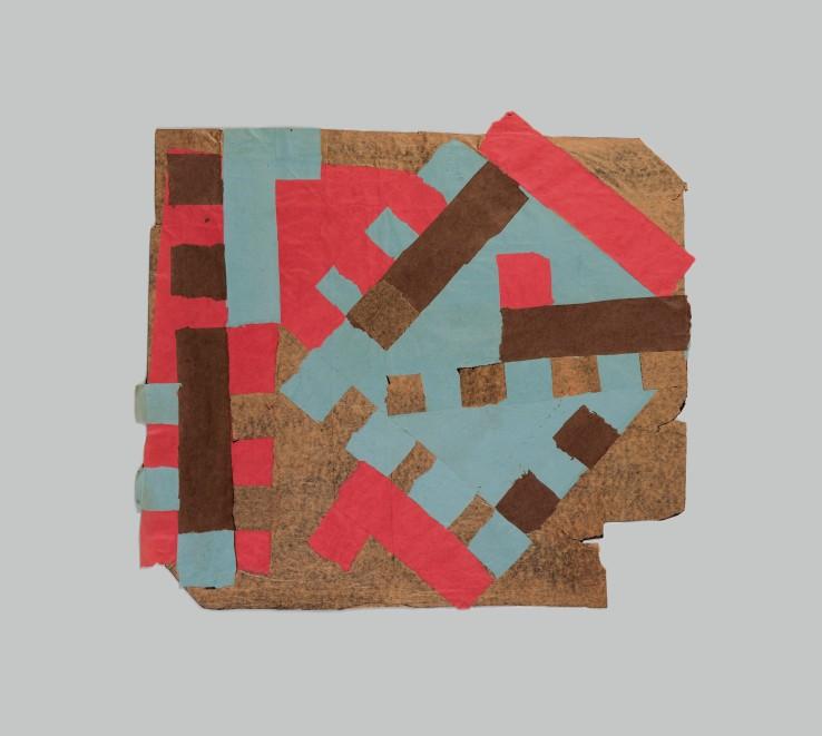 Francis Davison  C-59, 1965-71  Collage  77 x 86 cm