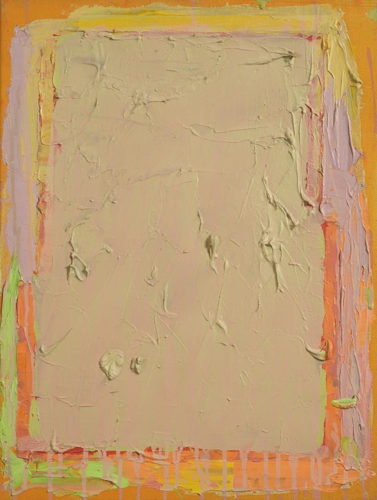 John Hoyland RA  Untitled, 1973  Acrylic on canvas  61 x 46 cm  Signed and dated verso