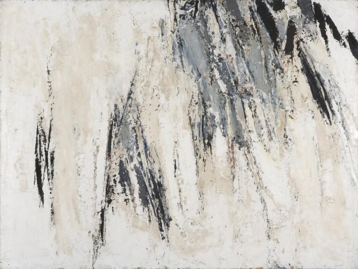 Paul Feiler  Morvah, Grey, 1958  Oil on board  92 x 122 cm