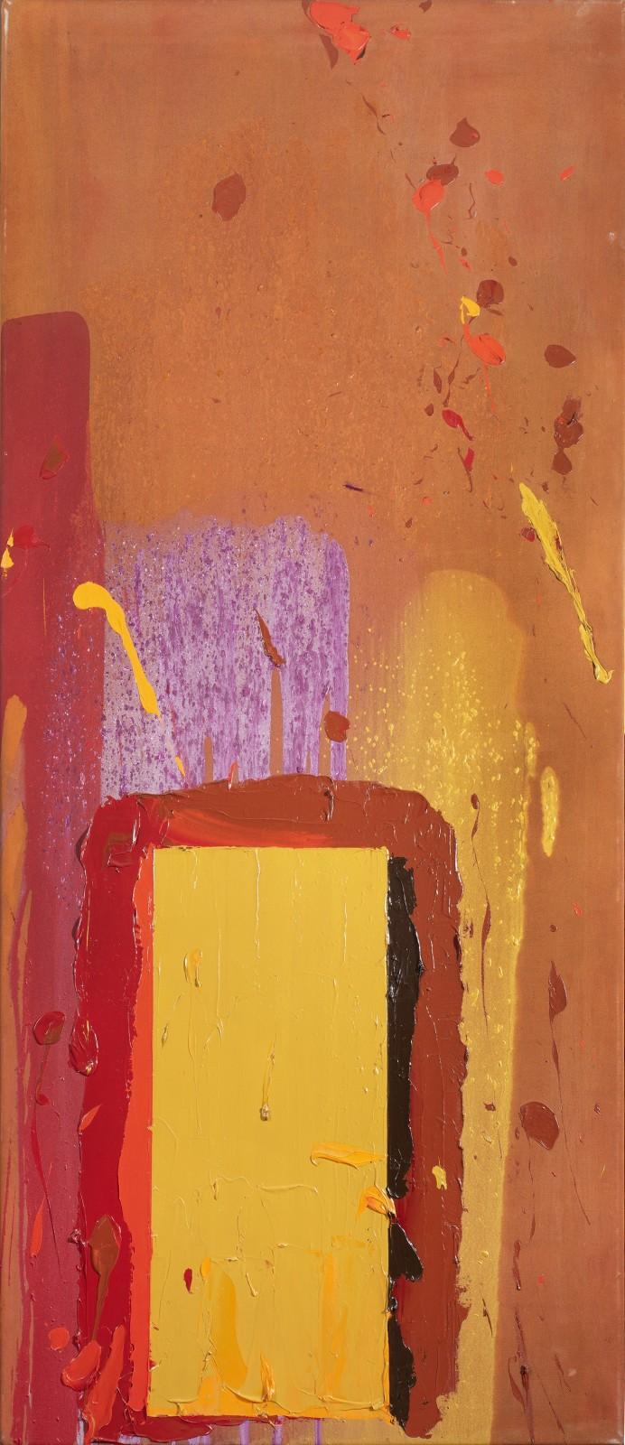 John Hoyland  Untitled, 1970  Acrylic on canvas  183 × 76 cm