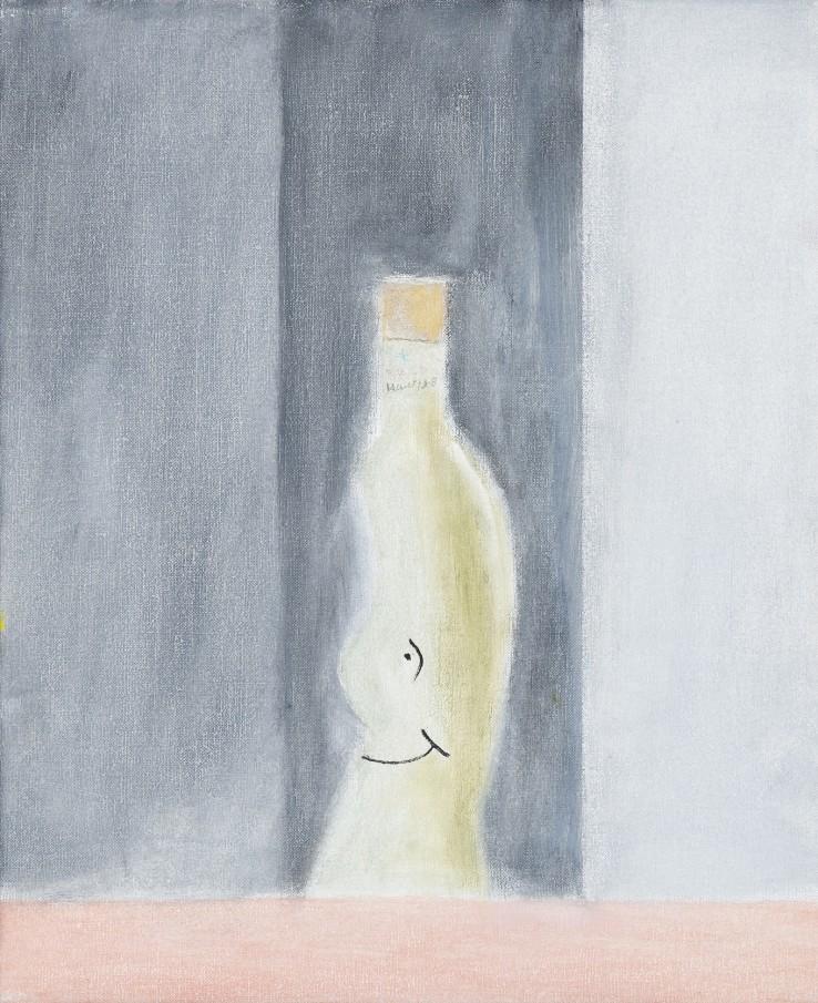 Craigie Aitchison  Still Life II, 2001  Oil on canvas  30.5 × 25.4 cm